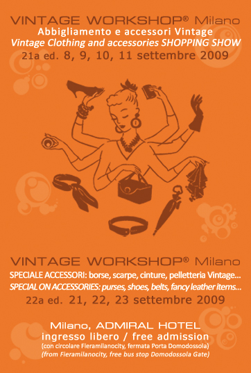 flyer Vintage Workshop settembre 2009